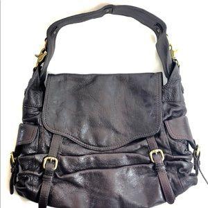 Kooba leather eggplant shoulder bag